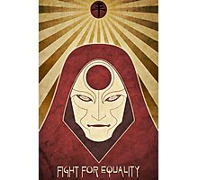 Legend of Korra - Amon Propaganda Poster Photographic Print