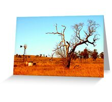 Shadow Puppet Country Tree Greeting Card