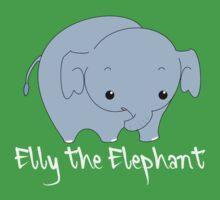 Elly the Elephant Kids Tee