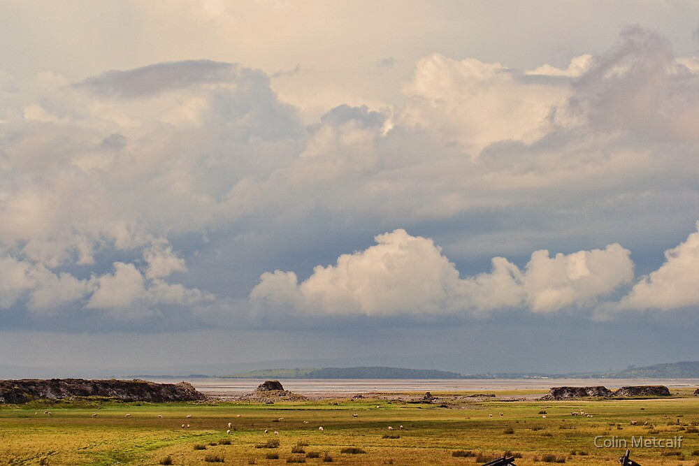 Morecambe Bay by Colin Metcalf