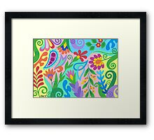 ROMANTIC ABSTRACT 03 Framed Print