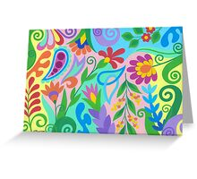 ROMANTIC ABSTRACT 03 Greeting Card