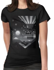 The globe Womens Fitted T-Shirt