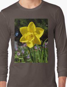 Delightful Daffodil Long Sleeve T-Shirt