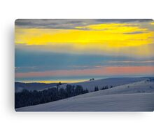 Good mornig Earth Canvas Print