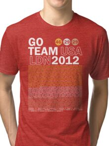 Team USA 2012 Tri-blend T-Shirt