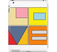 love blocks iPad Case/Skin