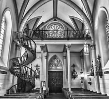 Loretto Chapel NM by GJKImages