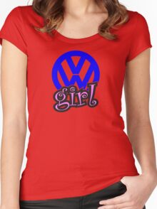VW Girl Women's Fitted Scoop T-Shirt