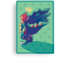 King of the Dragons Canvas Print