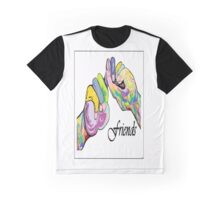 The Sign Language of FRIENDS Graphic T-Shirt