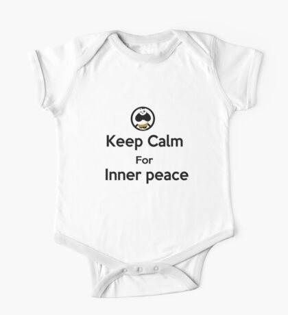 KEEP CALM for inner peace One Piece - Short Sleeve