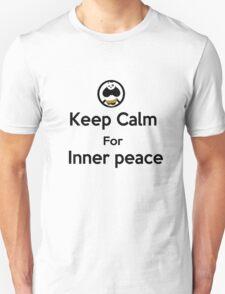 KEEP CALM for inner peace T-Shirt