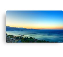 Eilat Sunrise Canvas Print