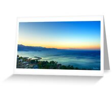 Eilat Sunrise Greeting Card