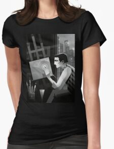 The artist Womens Fitted T-Shirt