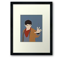 BBC Merlin Framed Print