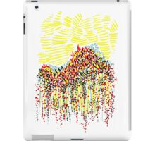Abstract dotted landscape iPad Case/Skin