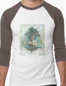 Cradling the Roots of my Spirit Men's Baseball ¾ T-Shirt