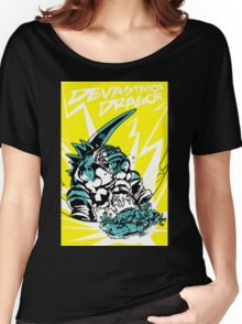 Devastator Dragon - Finisher Tee Women's Relaxed Fit T-Shirt