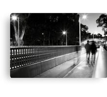 Bus Interchange Canvas Print
