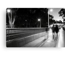 Bus Interchange Canvas Print
