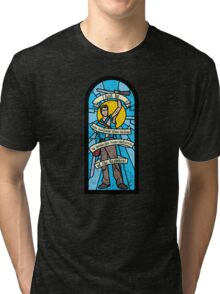 Stained Ash Window Tri-blend T-Shirt