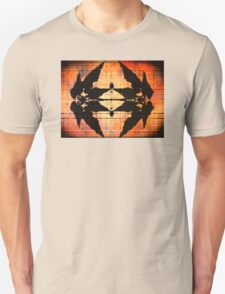 Western Leaf Pattern Unisex T-Shirt
