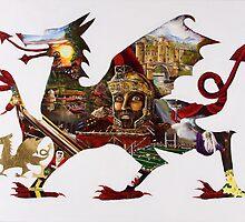 Welsh Dragon by patriotart