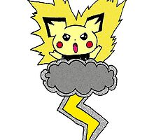 Pichu Storm by nsvtwork