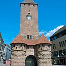 White tower in Nuremberg, Germany by Vac1