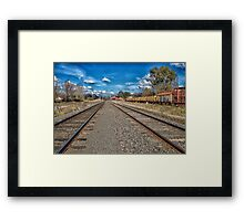 I can come or go, the choice makes me free. Framed Print