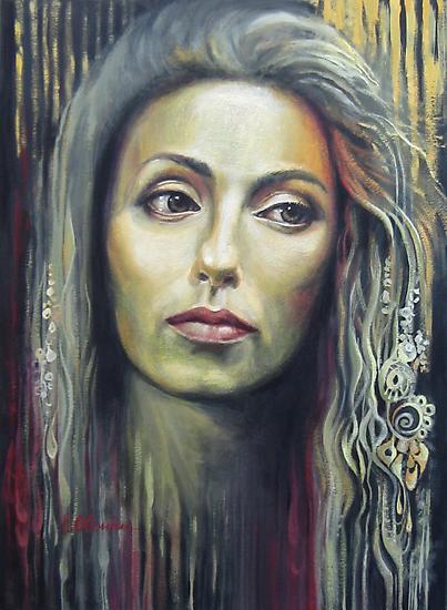 Contemplation by Elena Oleniuc