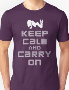 Night Club: Keep Calm And Carry On T-Shirt