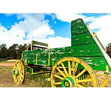 Antique Wagon Photographic Print