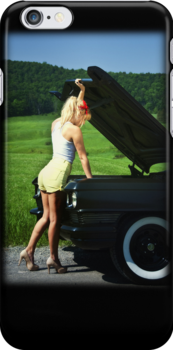 Need Help (Cadillac), Apple iphone 4 4s, iPhone 3Gs, iPod Touch 4g case by lapart