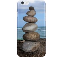 Stacked Pebbles 01 iPhone Case/Skin