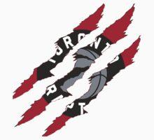 Toronto Raptors claw marks by Atodd1998