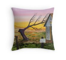 Pickers Welcome Throw Pillow