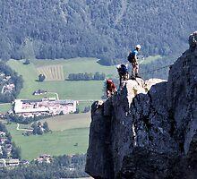 Climbing Katrin by Xandru
