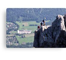 Climbing Katrin Canvas Print