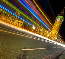 London light trails by Andrew-Thomas