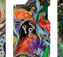 "iPhone case 2 based on my original artwork ""Before First Sin"" by Elena Kotliarker"
