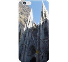 St. Patricks Cathedral and Reflection, 5th Avenue, New York City iPhone Case/Skin
