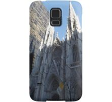 St. Patricks Cathedral and Reflection, 5th Avenue, New York City Samsung Galaxy Case/Skin