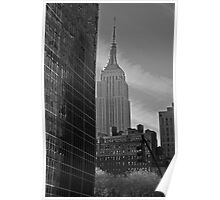 Street View of the Empire State Building Poster