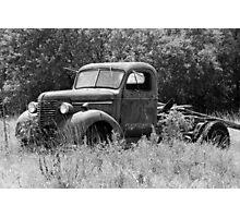 Retired Truck Photographic Print