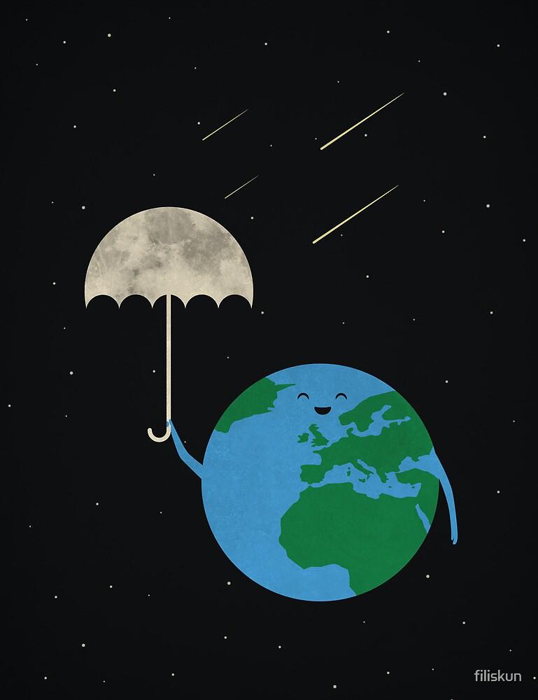 Moonbrella by filiskun