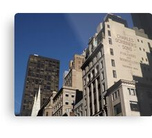 Looking North on 5th Avenue, New York City Metal Print