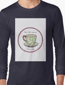 Tea's The Season Long Sleeve T-Shirt